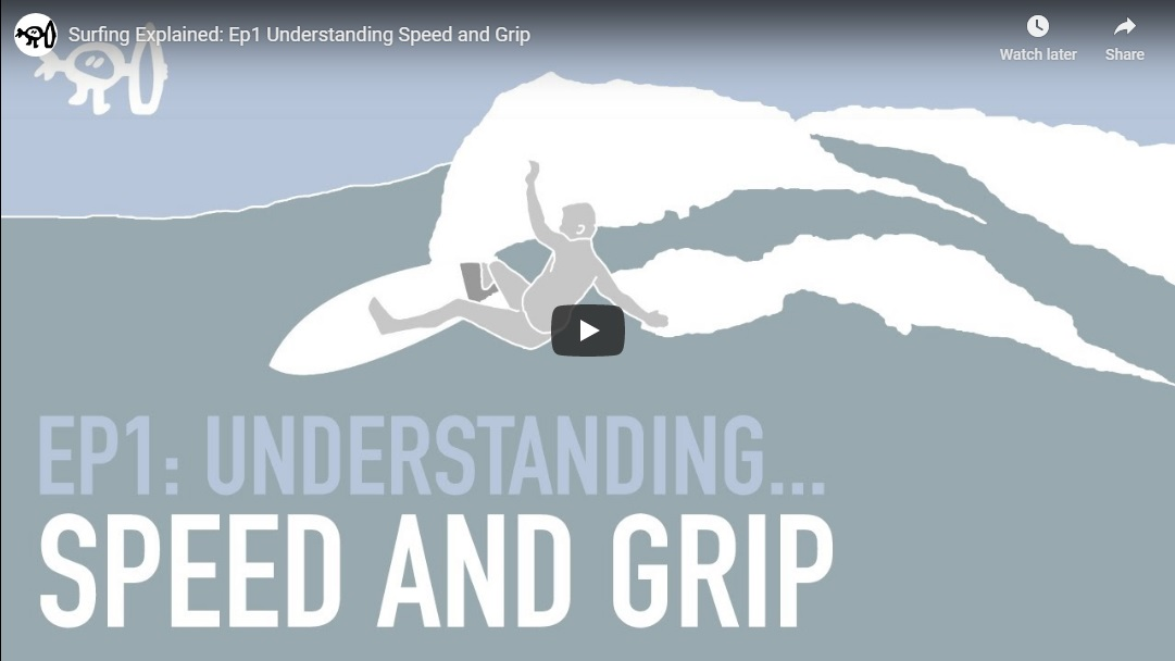 Surfing Explained: Ep1 Understanding Speed and Grip